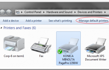 How To Change Default Printer Based On The Network You Are Connected To